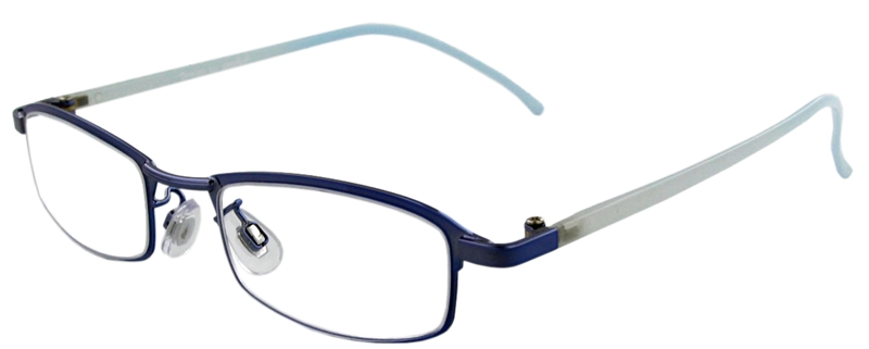 015.911 Reading glasses metal 1.00