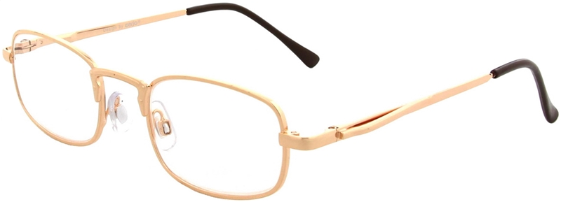 015.001 Reading glasses metal 1.00