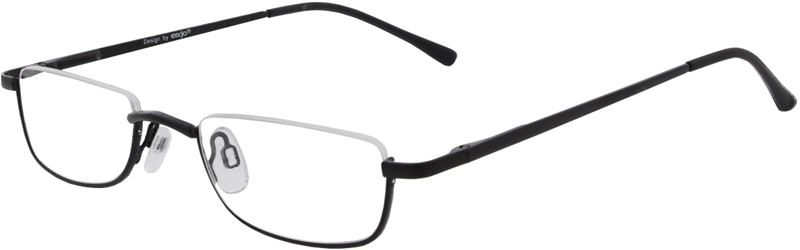 015.051 Reading glasses metal 1.00
