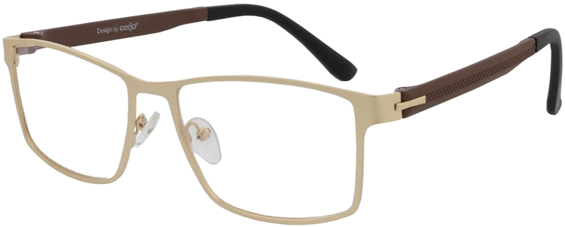 015.071 Reading glasses metal 1.00