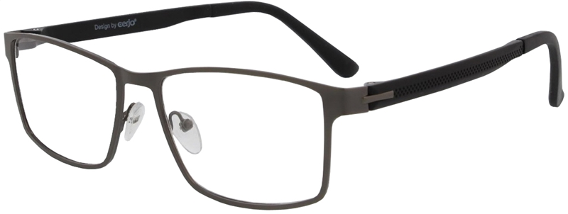 015.081 Reading glasses metal 1.00