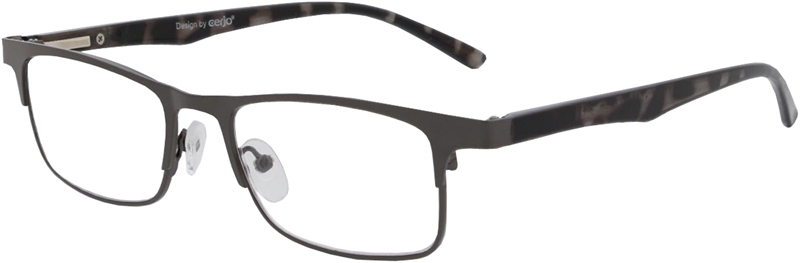 015.091 Reading glasses metal 1.00