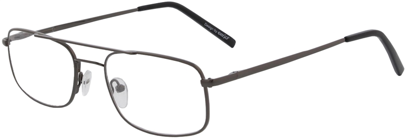 015.261 Reading glasses metal 1.00