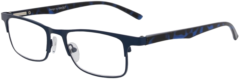 015.101 Reading glasses metal 1.00
