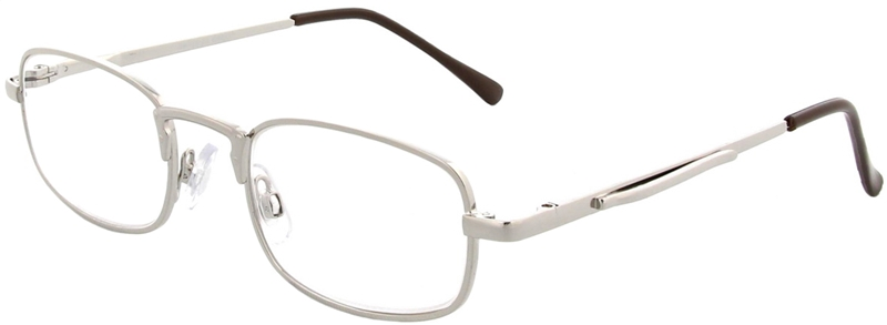015.011 Reading glasses metal 1.00
