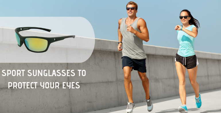 Sport sunglasses to protect your eyes