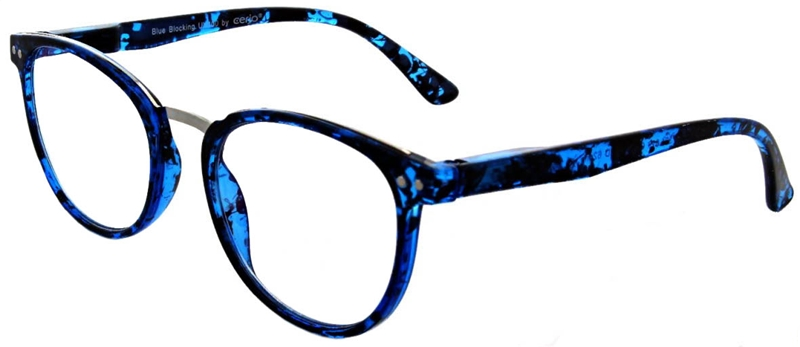 216.321 Reading glasses Blue Blocker 1.00
