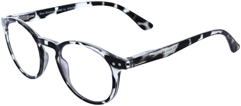 216.356 Reading glasses Blue Blocker 2.50