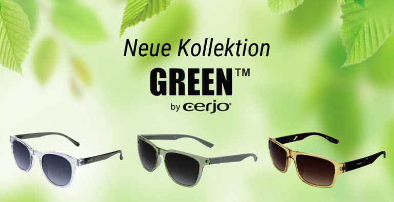 Die Green™ Kollektion by cerjo®